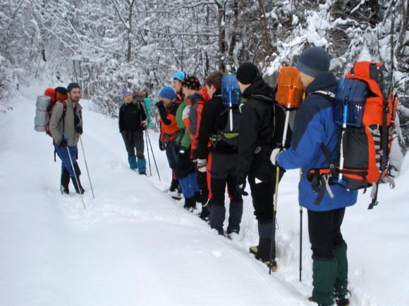 Alpinistična šola 2009/10 – 8. del