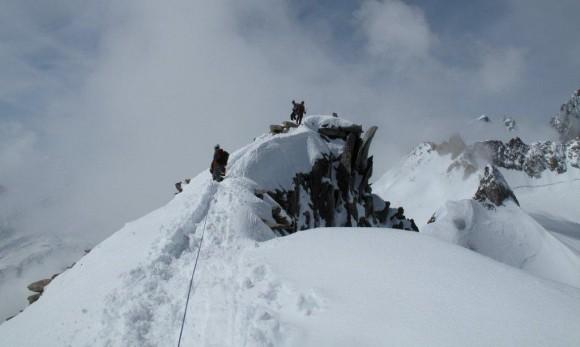 Ledeniški tečaj 2010 – Glacier du Gent