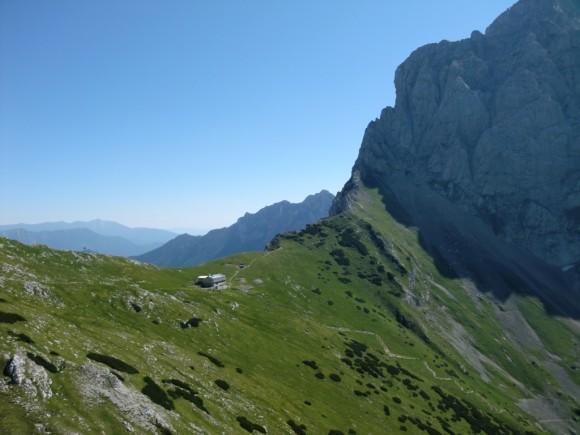 Začetni alpinistični tečaj v kopni skali – Kamniško sedlo 2010